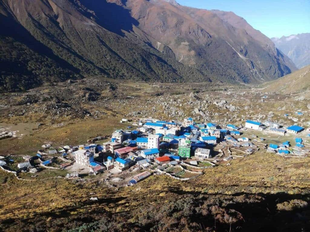 A Town in the Himalayas