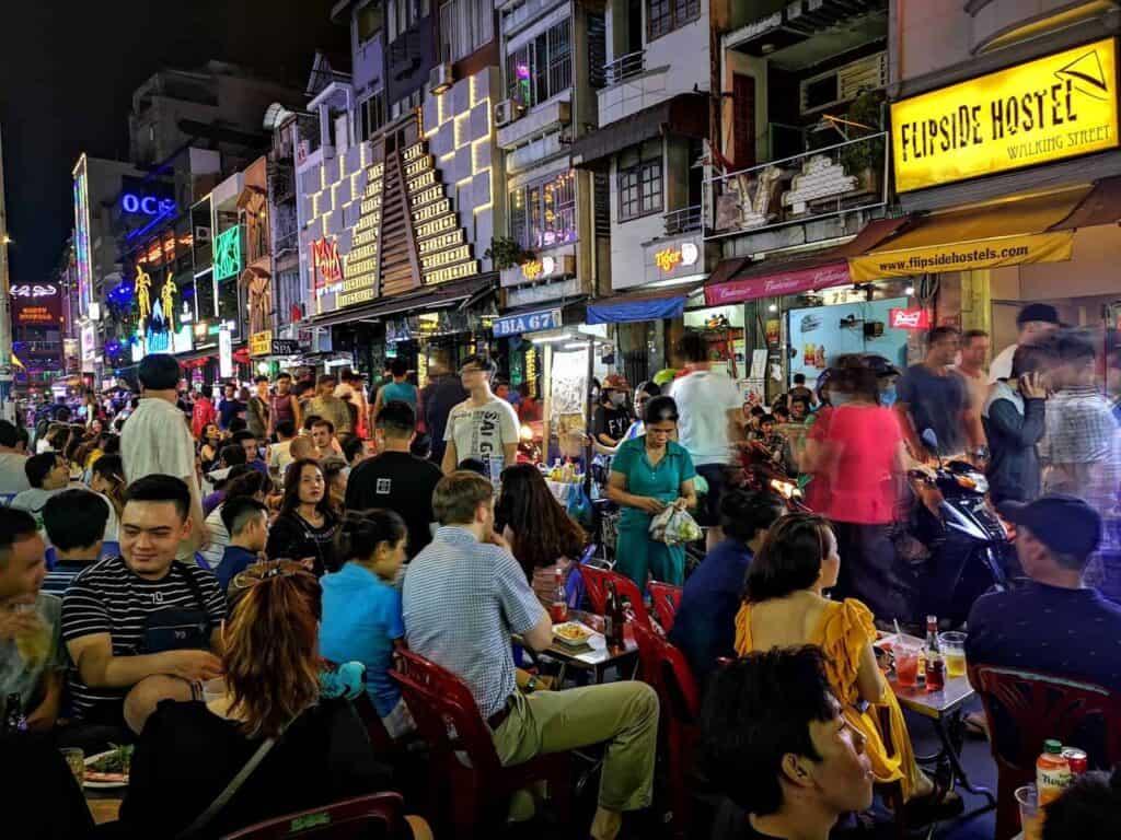 Bui Vien Walking Street, Ho Chi Minh City