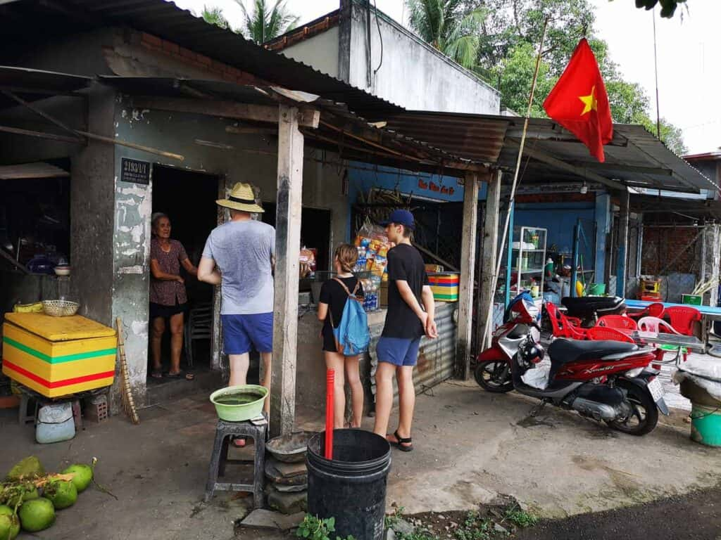 Corner Store Near The Entrance of The Cu Chi Tunnels