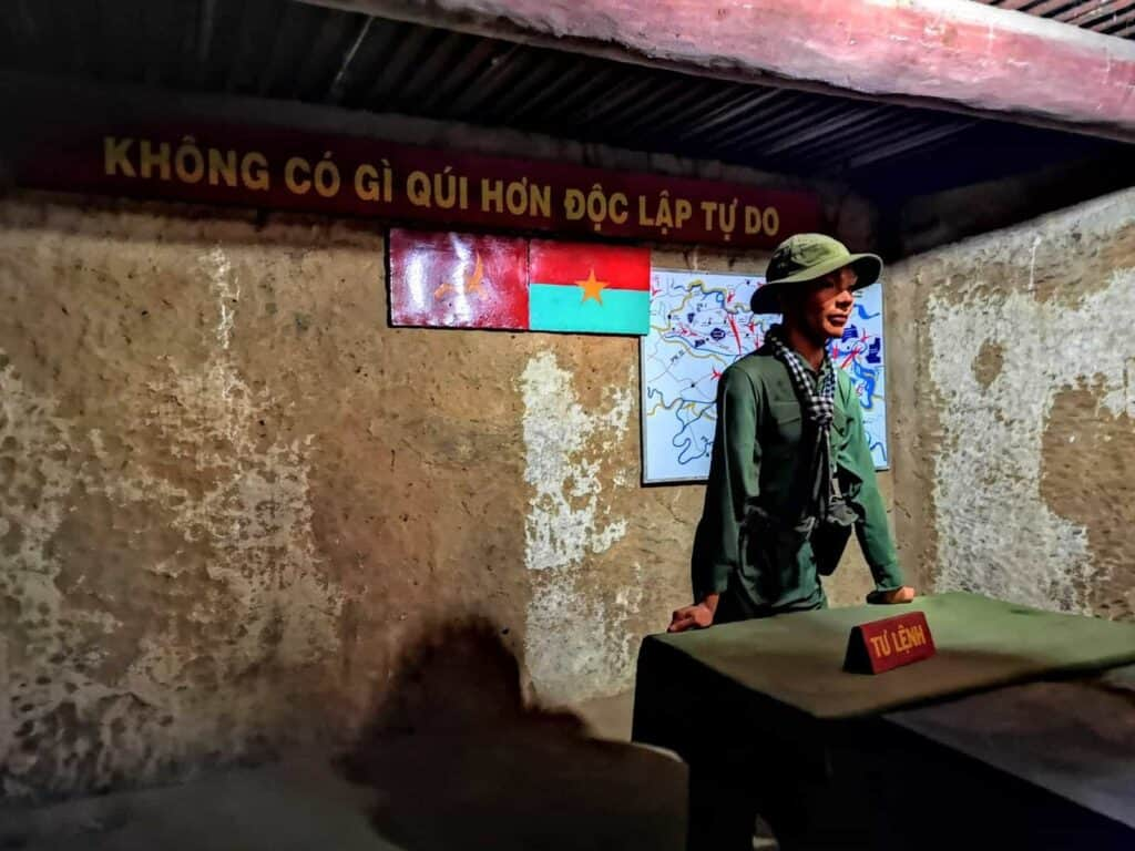 Cu Chi Tunnel HQ