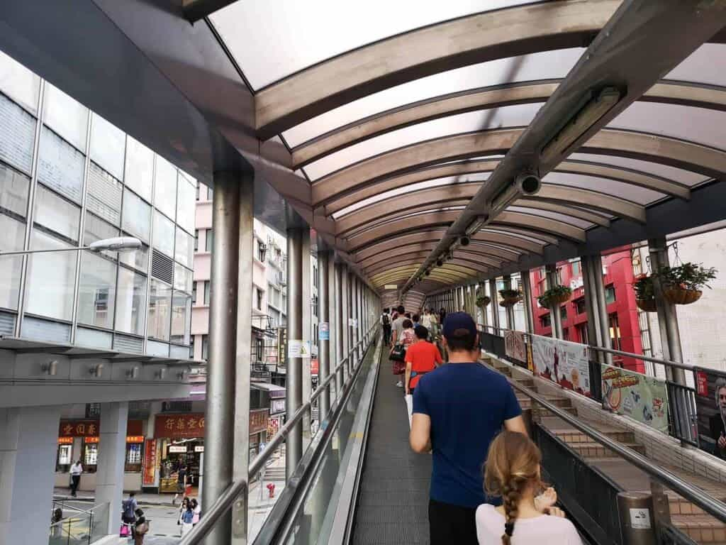 800 Meter Long Escalator