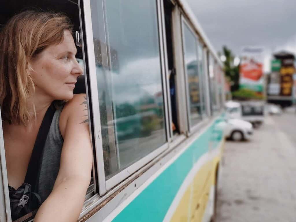 Taking a Bus to Ye, Myanmar