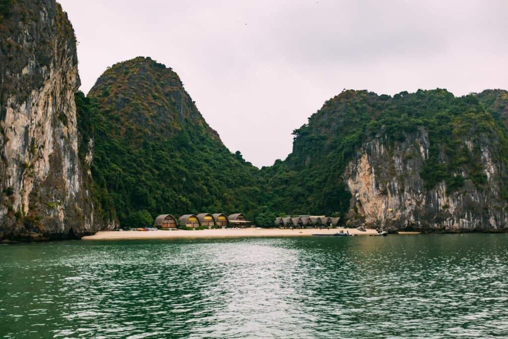 Cat Ba Island, in Lan Ha Bay