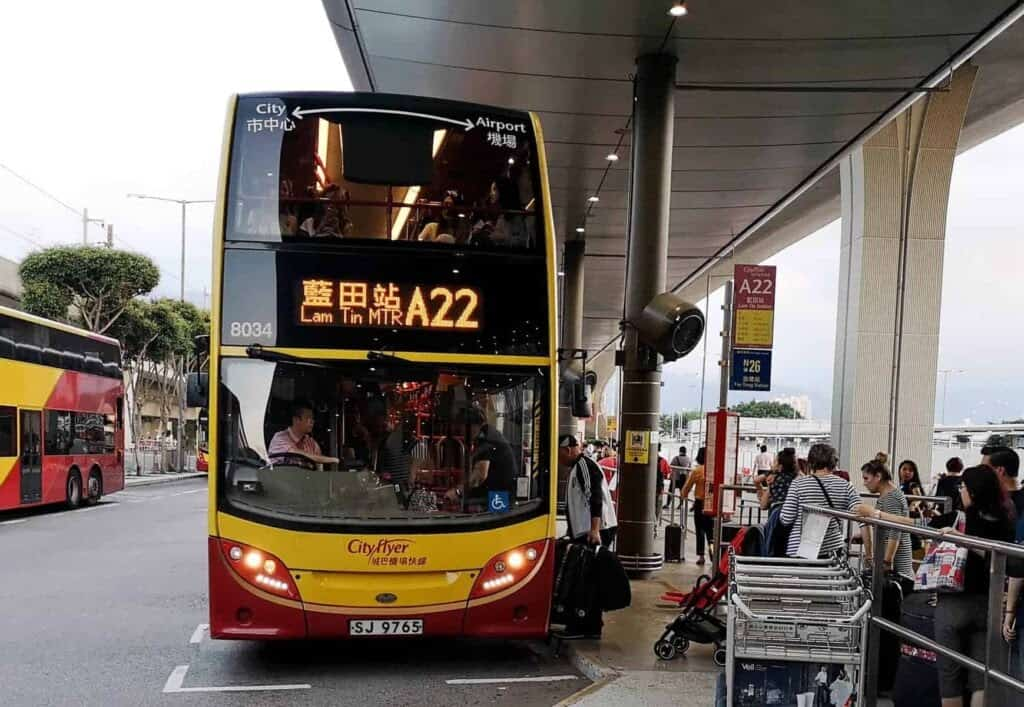 Bus A22 From The Airport