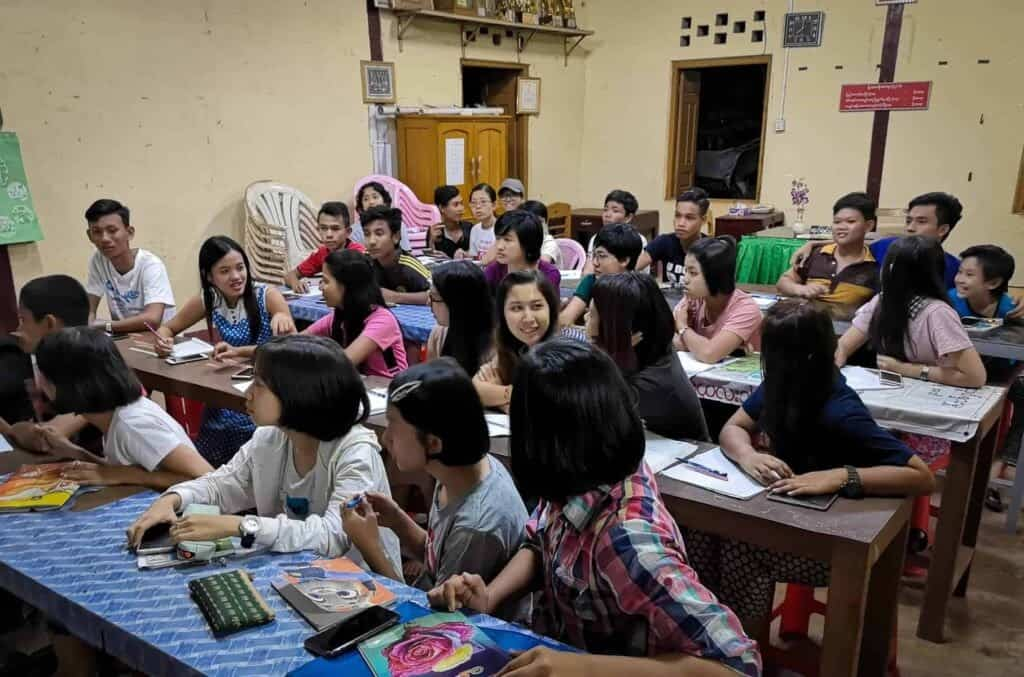 English School in Ye, Myanmar