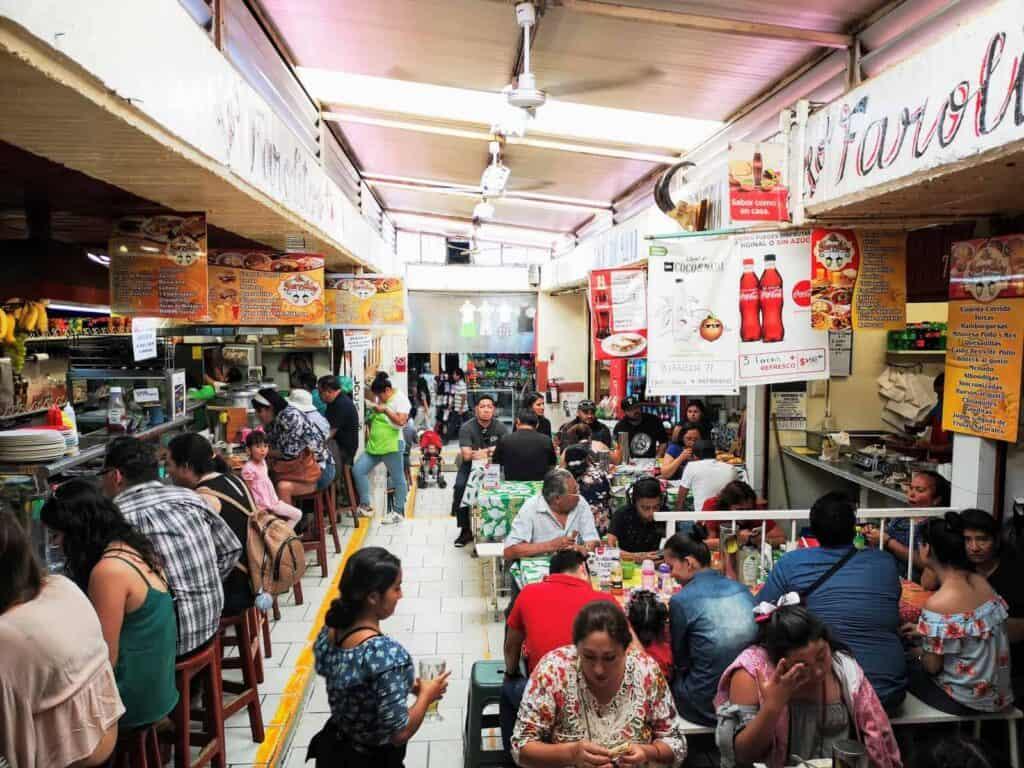 Local Market in San Miguel de Allende, Mexico