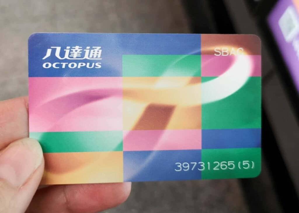 Octopus Card, Hong Kong