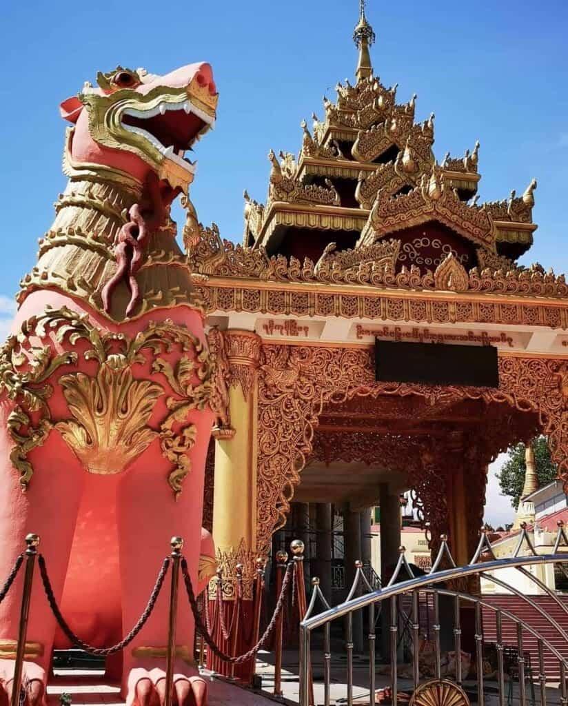 Shwesandaw Pagoda, Ye
