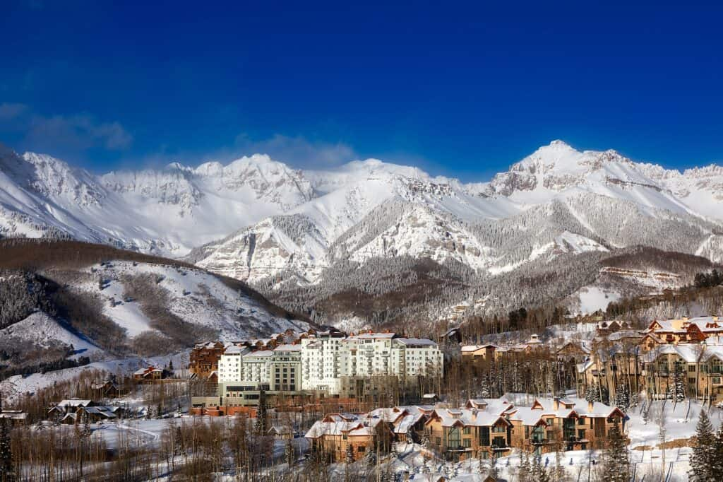 Telluride Ski Resort, Colorado